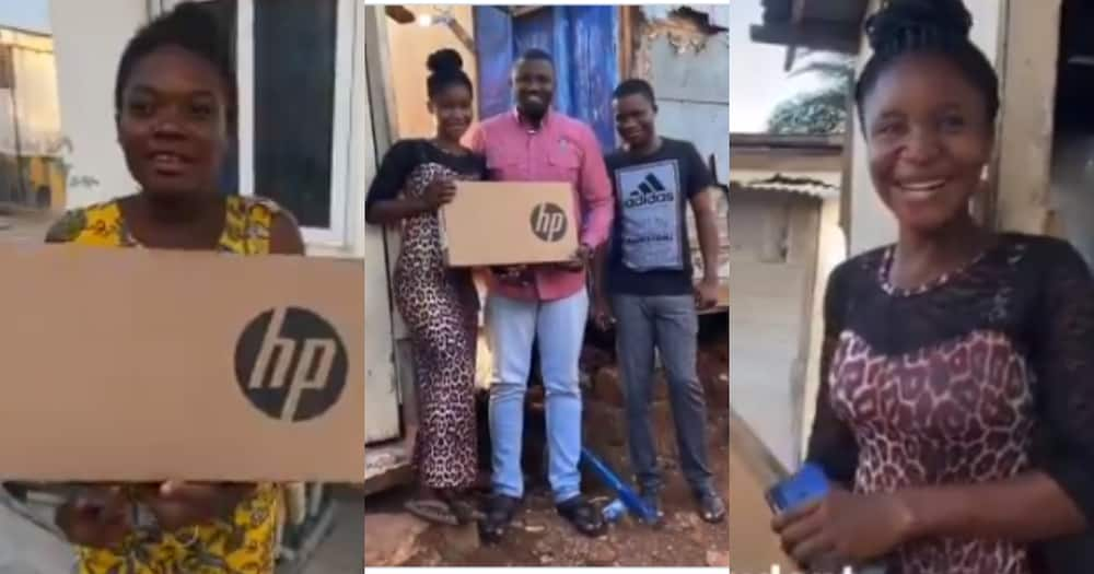 John Dumelo shares 4,000 laptops to Ayawaso West Wuogon Constituency
