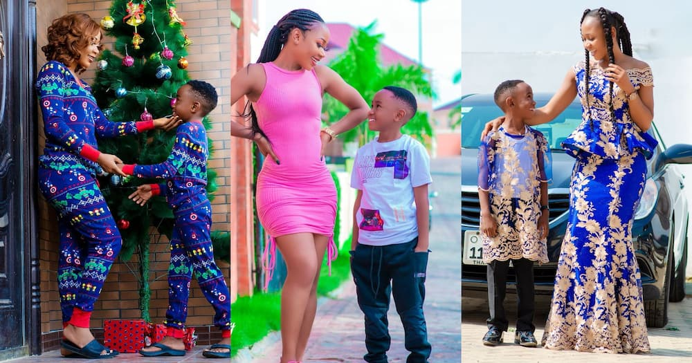 Akuapem Poloo Jailed: 10 Mother And Son Photos That Show ...