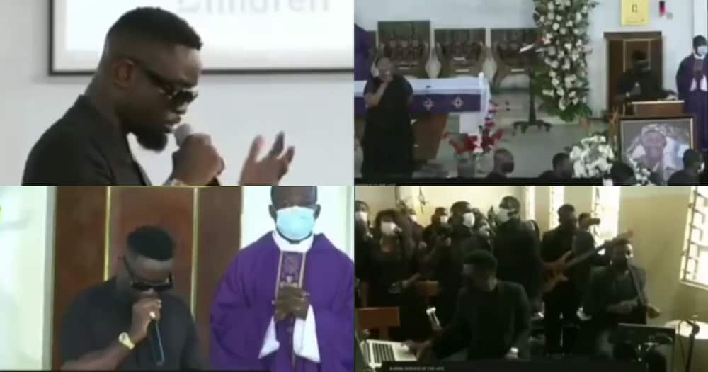 Sarkodie Drops Bars As He Performs At Gabby Otchere Darko's Father's Funeral; Video Drops