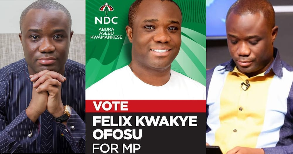 NDC's Felix Kwakye Ofosu speaks after being 'caught' in a woman's room