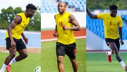 World Cup qualifiers: Ghana captain Andre Ayew delighted with the return of Kudus and Partey