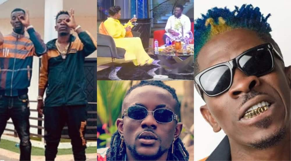 Shatta Wale drops first reaction after Addi Self flaunts his customized car (Video)