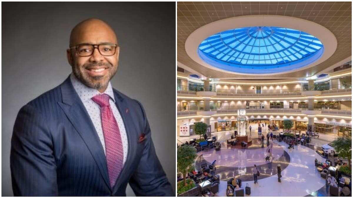 Kofi Smith: Meet the Black man who controls world's busiest airport