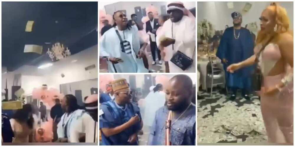 Nigerian Birthday Party in Atlanta Causes Stir Online as Young Men Flood Dance Floor with Dollar Bills