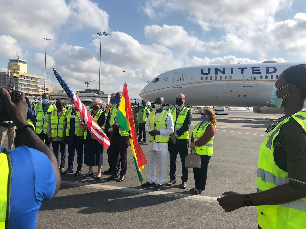 US-based United Airlines starts passenger flights to Ghana