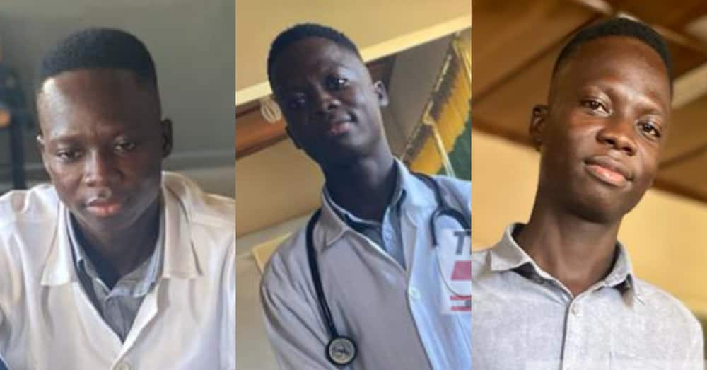 Emmanuel Binditi: Security guard who always dreamt of becoming doctor finally in the medical field