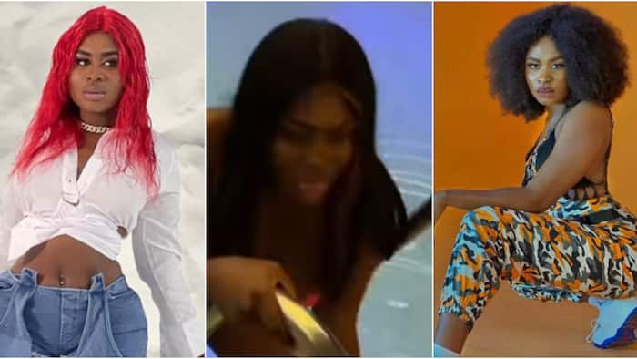Yaa Jackson twerks hard in video as she shows off her beauty in hot swimwear ahead of her b'day