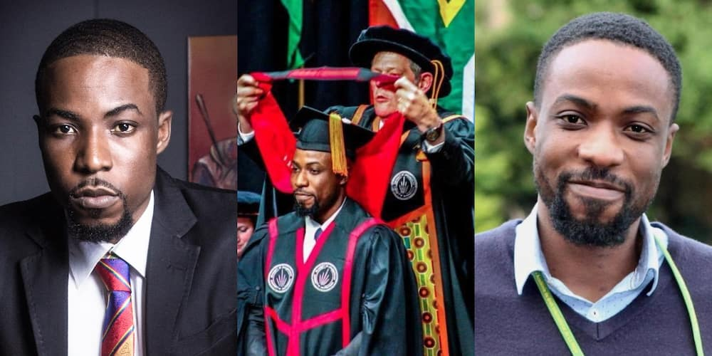 Meet the First-class graduate rejected by Ghana School of Law becomes Doctor of Law