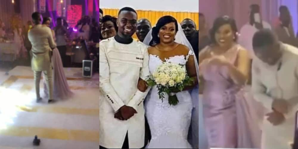 Settled2020: 1st dance video of Joe Mettle and wife Salomey arriving at their luxurious wedding reception