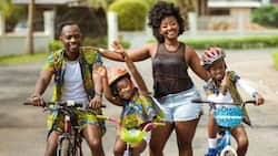 Kids will always love their mums more than us -Okyeame Kwame shares hard lesson on Fatherhood