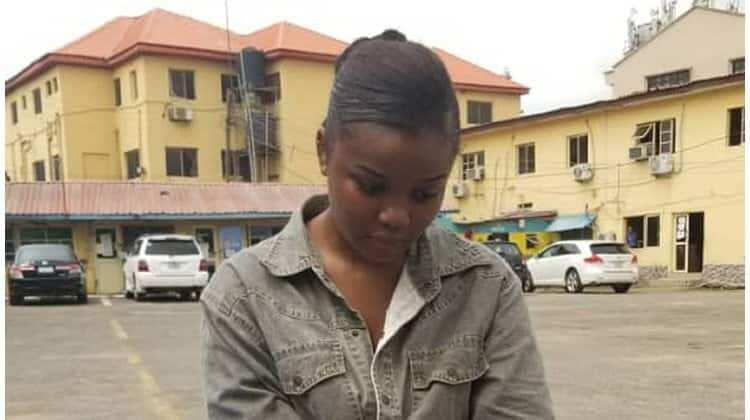 Lagos police have paraded a 21-year-old UNILAG undergraduate, Chidinma Ojukwu.