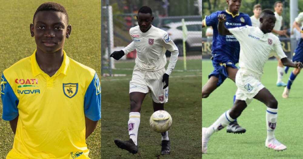 Inter Milan snap up Ghanaian prodigy Mike Aidoo from Chievo Verona