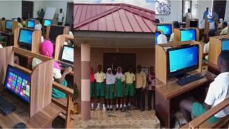 C/R: Ghanaian in US builds modern ICT Centre for Bremen Brakwa Islamic School; photos, video drop