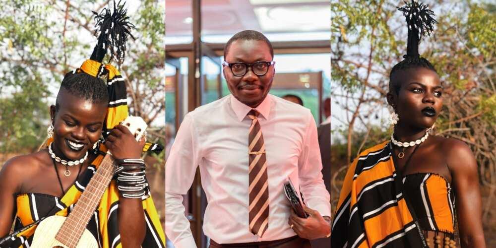 Wiyaala and Arnold Asamoah Baidoo