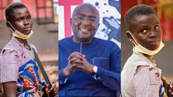Bawumia gets accommodation for teenage mom in school with her 10-month-old son; she speaks in video