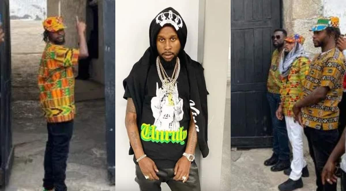 Image result for Year of Return: Jamaican Superstar Popcaan Shows Off His Newly-acquired Mansion in Ghana