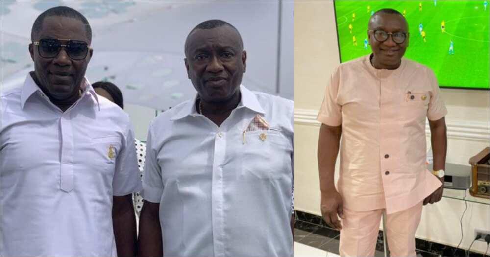 Kennedy Osei celebrates Dr. Ofori Sarpong on his birthday; drops photos