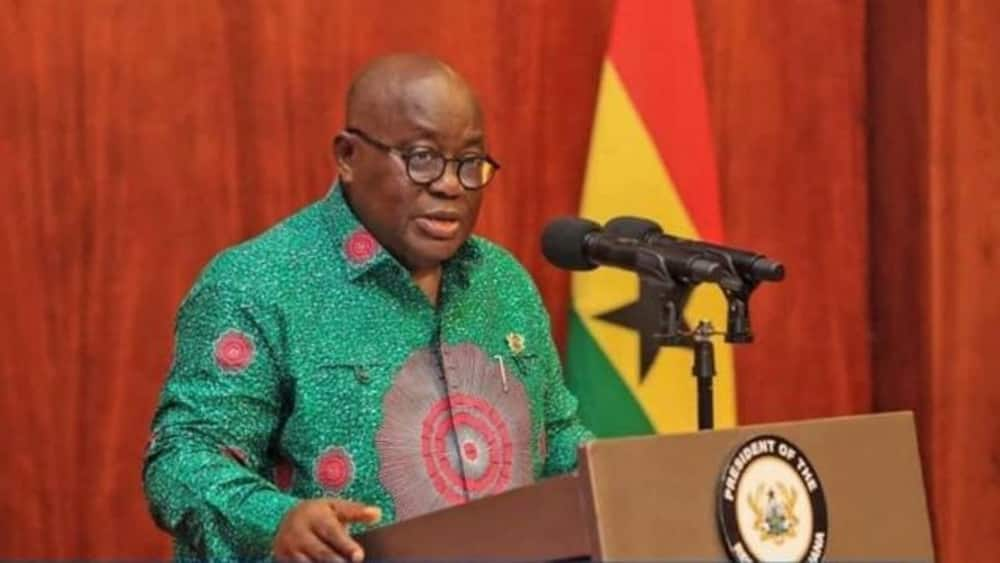 Ghanaian 'soldiers' descend on man who punched holes in Akufo-Addo's announcement on Rawlings's death