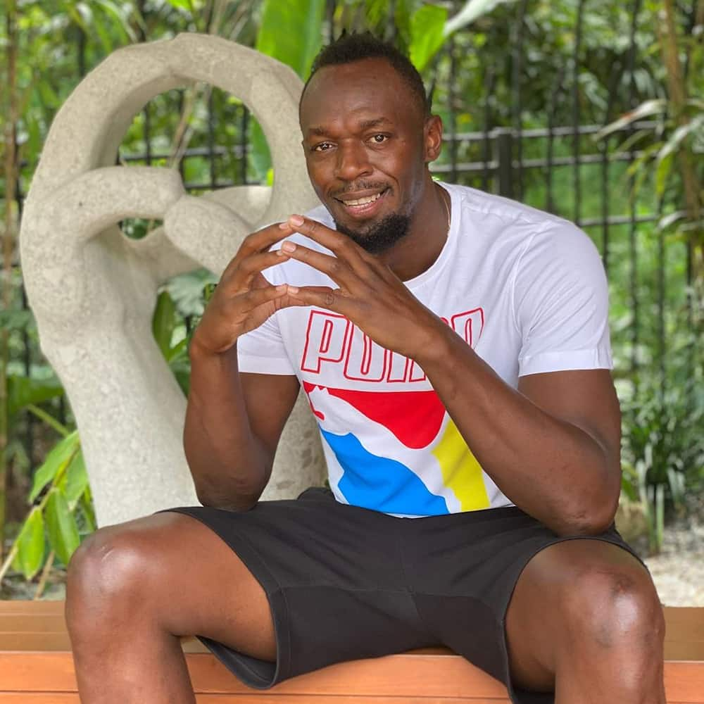 Usain Bolt names daughter Olympia Lightning Bolt as he shares first photos of her