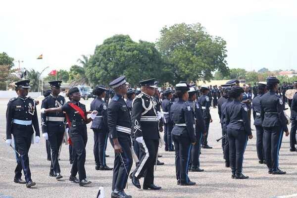 Vision of Ghana police service