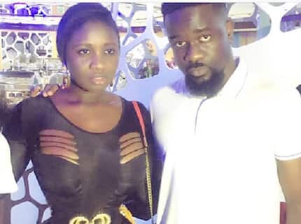 'Too close' photo of Sarkodie and Princess Shyngle together has fans calling on Tracy Sarkcess