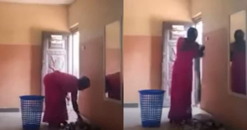 Woman caught on camera stealing from church