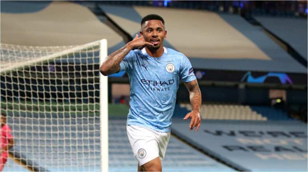 Man City vs Real Madrid: Sterling, Jesus score as Citizens win 2-1