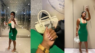 Beautiful single lady forgets all the men; takes herself on plush date in photos