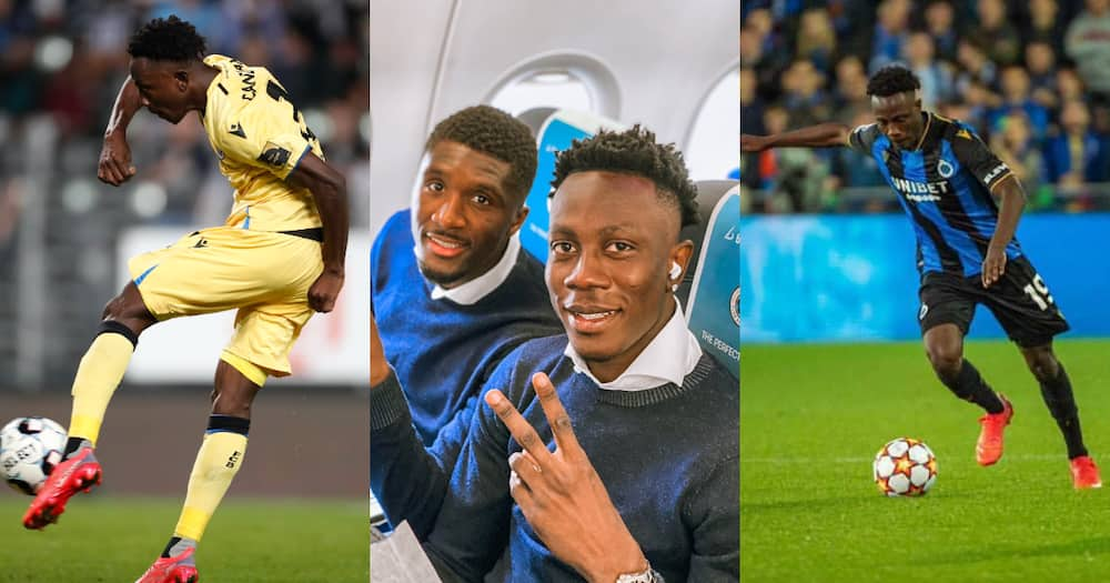 Ghanaian youngster Kamal Sowah included in Club Brugge's squad for Champions League game in Germany