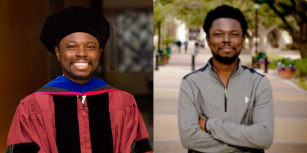 Dr. Umar: US Embassy celebrates Ghanaian YES beneficiary as he bags Ph.D from top US university (photo)