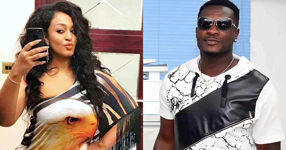 Asamoah Gyan et sa « petite amie » aperçus pour la première fois après son divorce