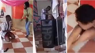 Pastor caught sleeping with alleged married woman inside his church; video emerges