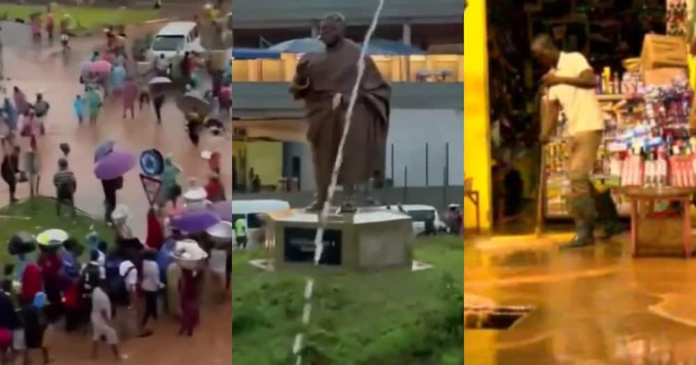 Kumasi floods: Videos show how flood destroyed wares at Kejetia market and other places