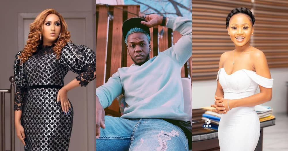 Iceberg Slim: Juliet Ibrahim's ex-Boyfriend Consoles Akuapem Poloo After her Release