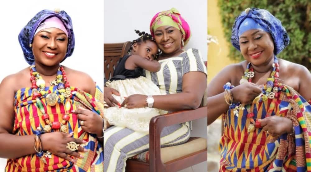 Nyame Anuonyam: 5 Photos of Gifty Anti's lookalike daughter looking all-grown-up