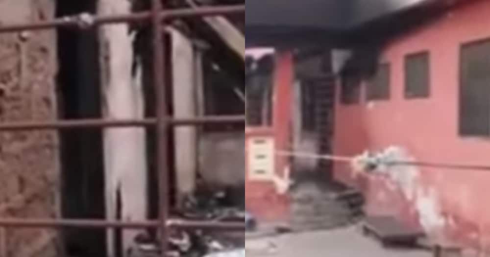 4 children burnt to death after their mother attended all-night service (video)