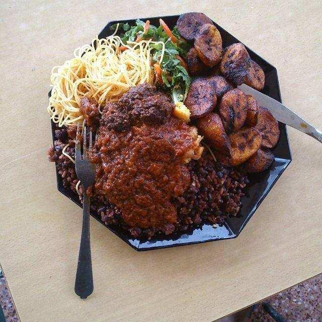 Ghana food menu