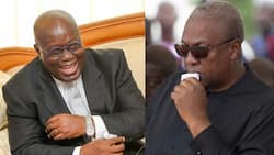 Akufo-Addo shades Mahama; says those who lost the elections are thanking people