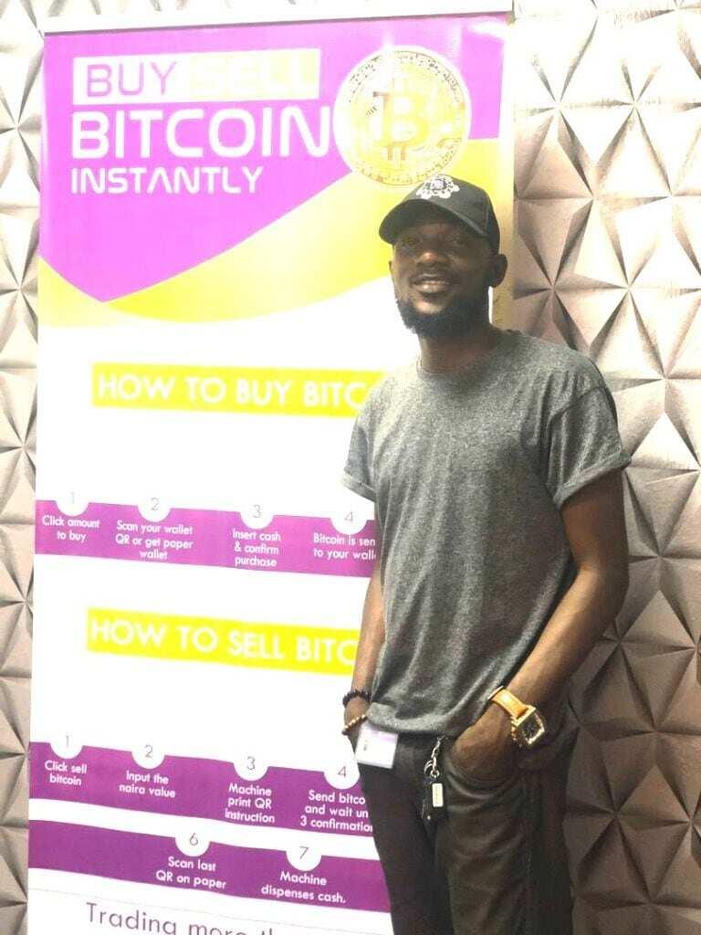 Daniel Adekunle: Young entrepreneur designs Nigeria's first Bitcoin ATM