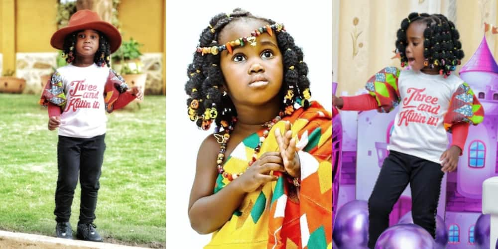 Gifty Anti drops more beautiful photos of all-grown up daughter as she celebrates her b'day (photos)
