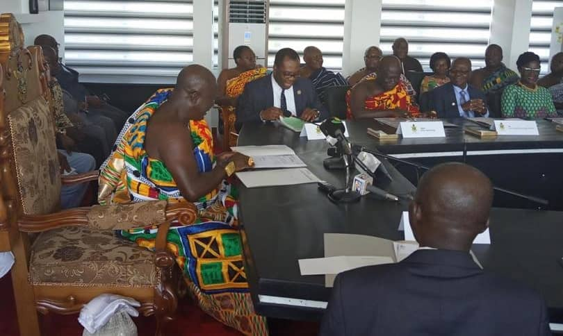 New KNUST governing council sworn in