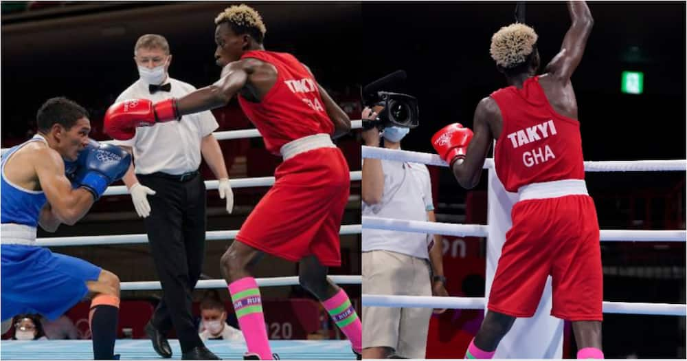 Tokyo 2020: Boxer Samuel Takyi wins Ghana's first Olympic medal in 29 years