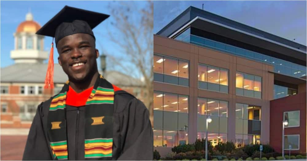 Ghanaian engineer lands job with top electronic company as he bags master's from US varsity