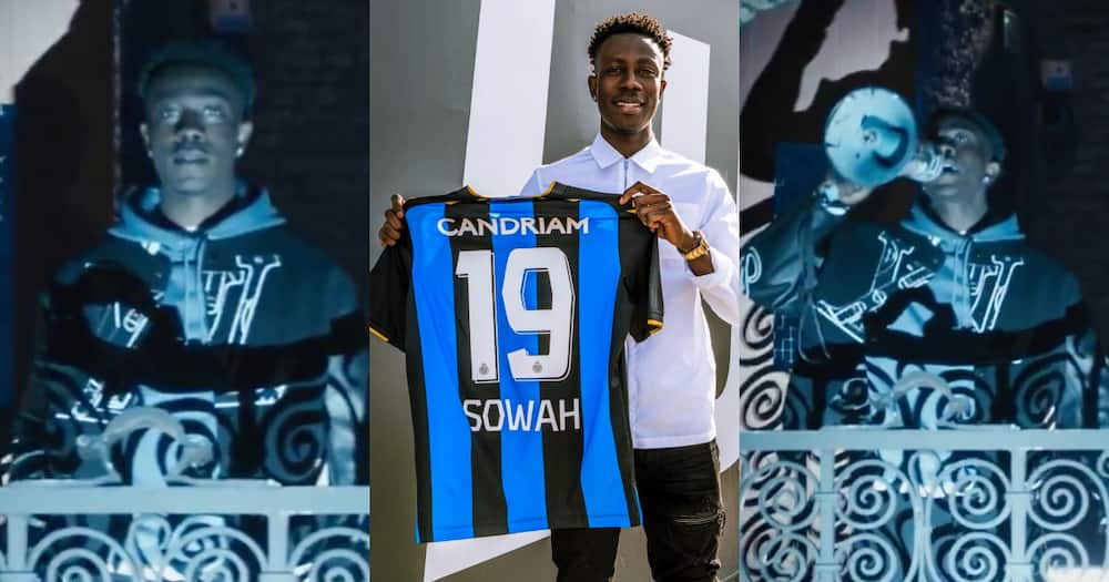 Club Brugge announce Ghanaian Kamal Sowah capture with city inspired video