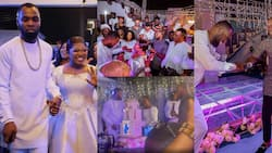 14 beautiful videos from the star-studded 34th birthday party for Obofour's wife