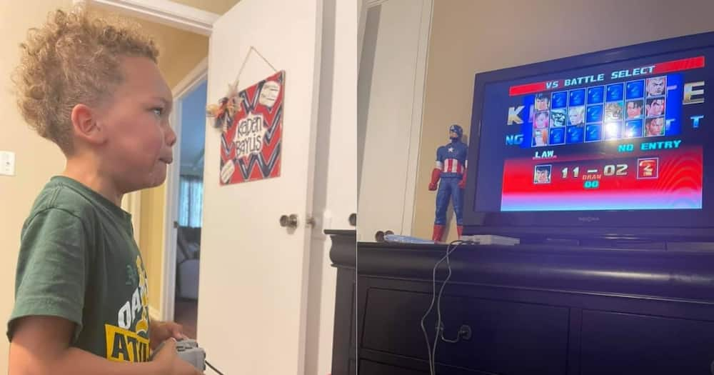 Parenting: Dad Plays PlayStation Game Against Son, Beats Him 11-2 To Teach Him Humility