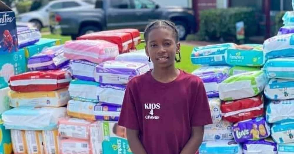 Boy dubbed a hero after raising money to buy diapers for single moms