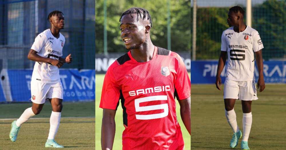 Ghana youngster Kamaldeen Sulemana marks Stade Rennais debut