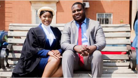 My lovely wife was called to the Bar - Man proudly gushes over his wife as she becomes a lawyer
