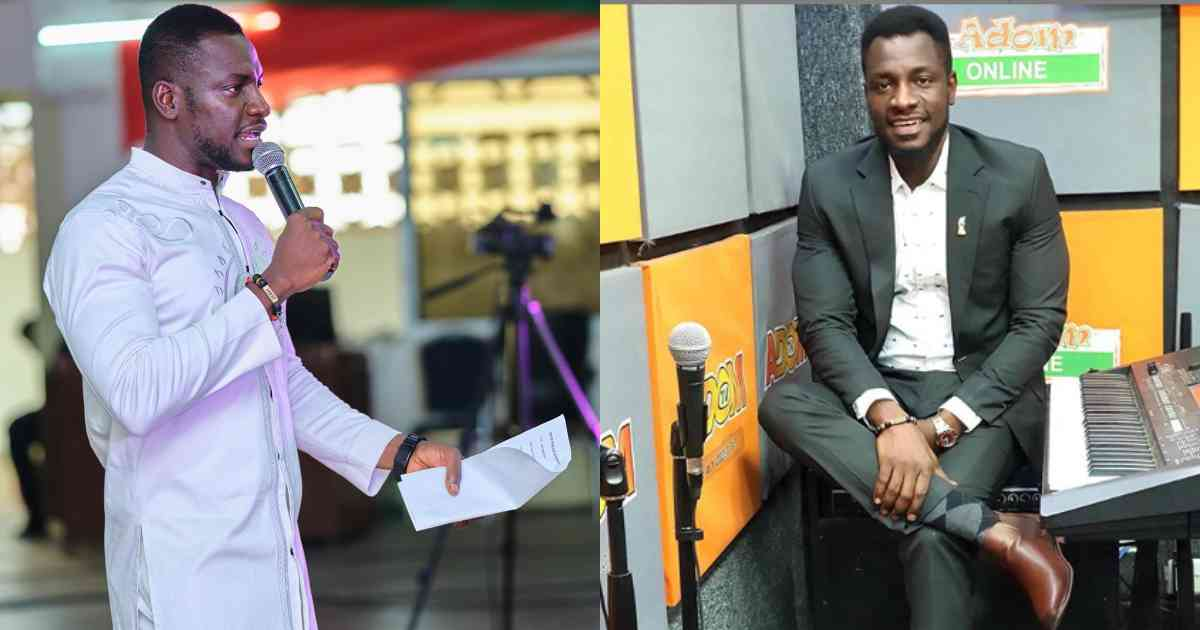 Jerry Justice reacts to reports that he has left Adom FM
